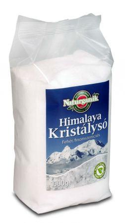 Himalaya kristálysó, finom, fehér, Naturganik