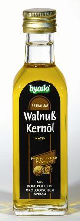 Dió olaj, natív, bio, Byodo (100 ml)