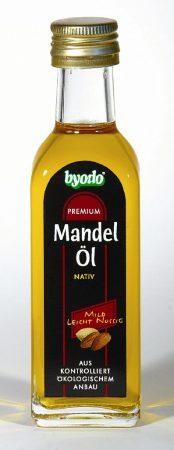 Mandulaolaj, natív, bio, Byodo (100 ml)