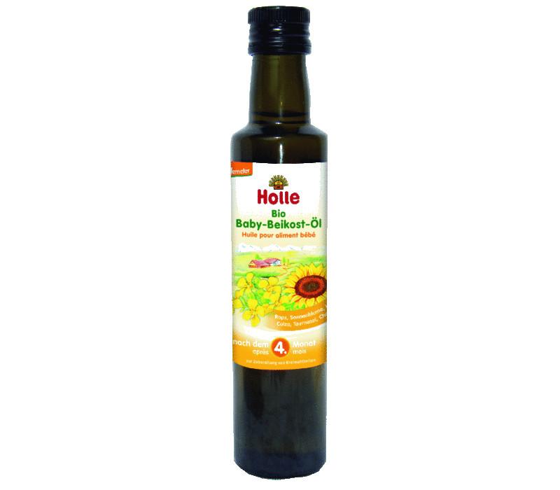 Étkezési babaolaj, bio, Holle (250ml)