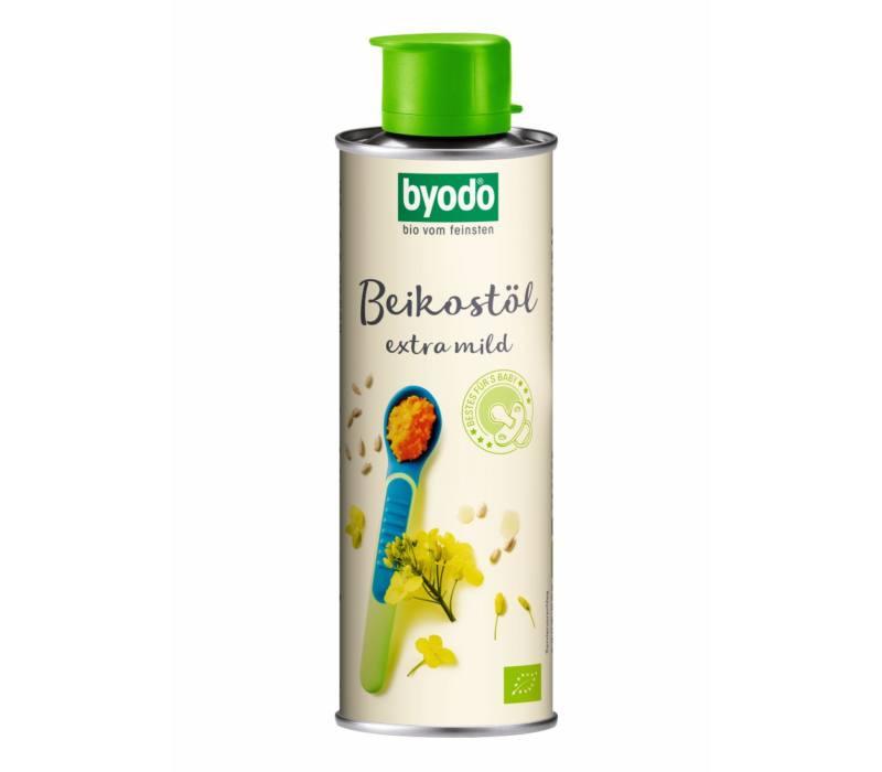 Étkezési babaolaj, bio, Byodo (250ml)