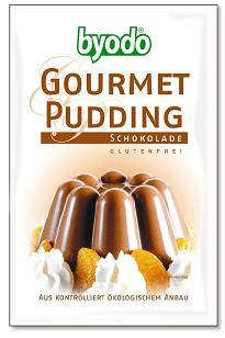 Pudingpor, csokoládés, bio, Byodo (36g)