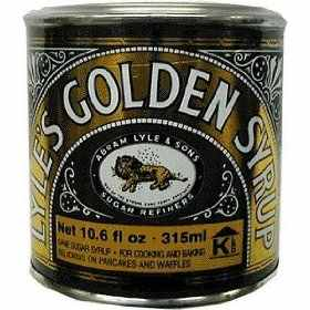 Cukornád szirup, Lyle's Golden (454g)