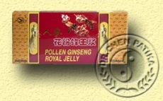 Pollen Ginseng Royal Jelly ampulla, Dr. Chen patika (10*10ml)