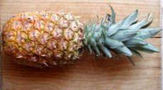 Ananász, bio (CR)