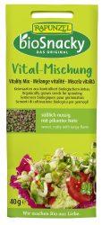 bioSnacky Vitalitás csíramag keverék, bio, Rapunzel (40g)