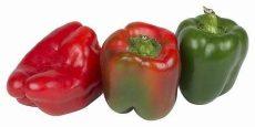 Kaliforniai paprika, piros, bio (ES) - L: 1501/15405