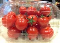 Koktél paradicsom, piros, kerek, bio (IT) (250g / doboz) - L: 4802/08897