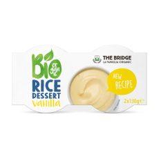 Vaníliás rizsdesszert, bio, The Bridge (4*110g)
