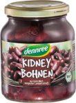 Kidney bab sós lében üvegben, bio, Dennree (350g)