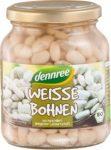 Fehér bab üvegben, bio, Dennree (350g)