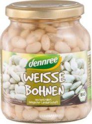 Fehér bab üvegben, bio, Dennree (350g) - 2024/12/31.
