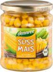 Csemege kukorica üvegben, bio, Dennree (330g)