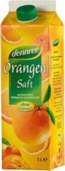 Narancslé, 100%- os, dobozos, bio, Dennree (1000ml)