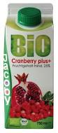 Cranberry nektár gránátalmával, bio, Jacoby (750ml)