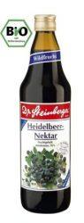Fekete áfonya nektár, bio, Dr. Steinberger (750ml)