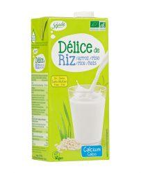 Rizs ital, natúr + kalcium, bio, Sojade (1000ml)