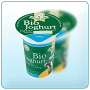 Joghurt, natúr, bio, Zöld Farm (150g)