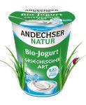Görög joghurt, natur, bio, Andechser (400g)