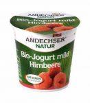 Gyümölcsjoghurt, málnás, bio, Andechser (150g)
