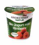 Gyümölcsjoghurt, málnás, bio, Andechser (150g )- 2021/03/23.