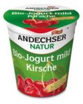 Gyümölcsjoghurt, cseresznyés, bio, Andechser (150g)