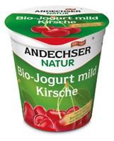 Gyümölcsjoghurt, cseresznyés, bio, Andechser (150g) - 2021/05/18.