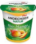 Gyümölcsjoghurt, mangós, bio, Andechser (150g)