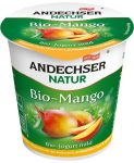 Gyümölcsjoghurt, mangós, bio, Andechser (150g) - 2021/08/01.
