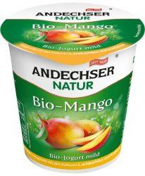 Gyümölcsjoghurt, mangós, bio, Andechser (150g) - 2021/05/25.
