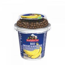 Banános gyümölcsjoghurt csokis golyókkal, bio, Bechtesgadener Land (150g) - 2021/08/20.