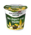 Gyümölcsjoghurt, vaníliás, bio, Andechser (150g) - 2021/03/16.