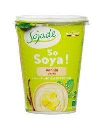 Szója joghurt Bifidussal, vaníliás, bio, Sojade (400g)