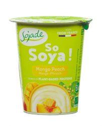 Szója joghurt Bifidussal, mangó-barack, bio, Sojade