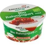 Könnyű gyümölcsjoghurt, cseresznyés, bio, Andechser (150g)