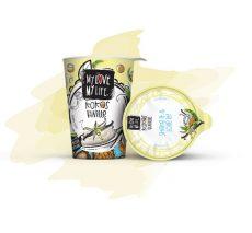 Kókusz joghurt vaníliával, bio, Mylove (180g)