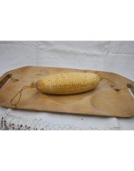 Gomolya sajt, füstölt, bio, Virágoskút (darabolt, 20-40 dkg/db)