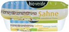 Dupla tejszínes krémsajt, bio, Bio Verde (175g)