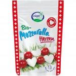 Mini mozzarella golyók, bio, Züger (130g)