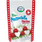 Mini mozzarella golyók, bio, Züger (130g) - 2021/06/26.