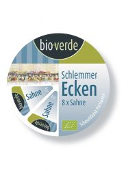 Háromszög sajt, tejszínes, bio, Bio Verde (8*25g)