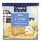 Gouda reszelt sajt, bio, Söbbeke (100g)