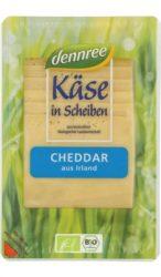 Cheddar sajt, szeletelt, bio, Dennree (150 g) - 2021/09/09.