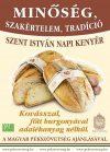 Szent István napi burgonyás kenyér, bio, Piszke