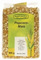 Pattogatnivaló kukorica, bio, Rapunzel (500 g)