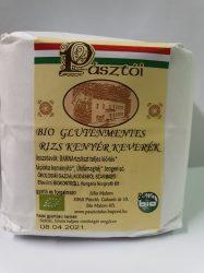 Gluténmentes rizs-kenyérliszt keverék, bio, Pásztó Malon (850g)