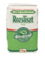 Rozsliszt (RL 190), teljes kiőrlésű, bio, Biopont (1000g)