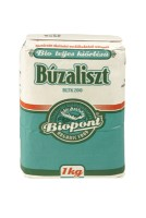 Búzaliszt, teljes kiőrlésű (BL TK 200), bio, Biopont (1000g)