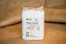 Világos rizsliszt, bio, Piszke (500g)
