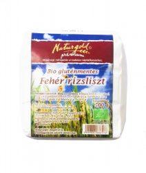 Fehér rizsliszt, gluténmentes, bio, Naturgold (500g)